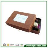 Fashion Custom Coffee Art Paper Chocolate Box with Logo