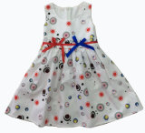 Fashion Girl Dress, Popular Children Clothing (SQD-137)