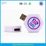 Custom Round Style Expoxy USB Flash Drives (EG546)