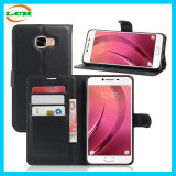 High Quality Leather Case for Sumsung C7 with Card Slot