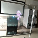 Holographic Transparent Rear Projection Film for POS Advertising