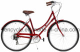 700c 7 Speed Index Dutch Classic Lady Bike with Style and Alloy Frame Good Quality