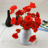 High Quality Cheap Poppy Artificial Flower (SW13302)