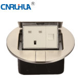 China Eficiency Compact Round British Telephone & One-Way Floor Socket