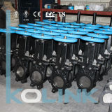 Lug Type Knife Gate Valve in Replaceable Resilient Seat