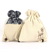 Cotton Canvas Drawstring Wedding Pouch (CCB-1063)