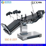 Electric Hospital Equipment OT Use Fluoroscopic Operating Surgical Table
