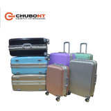 2016 New Chubont Hot Sell 8 Wheels Aluminum Frame Fashion PC Hard Side Suitcase