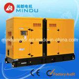 Water Cooled Silent 125kVA Yuchai Silent Diesel Generator Set