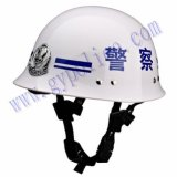 Plastic Police Services Duty Safety Helmet