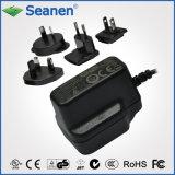 5 Watt AC Adaptor with Universal AC Plugs