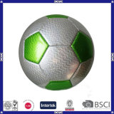 Promotional Shining Leather Soccer Ball