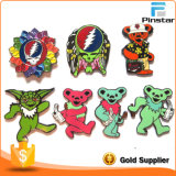 Factory Sale Grateful Dead Pin Custom Enamel Badges