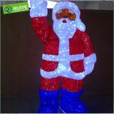 LED Santa Motif Light Decoration