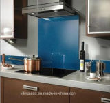 Color Ceramic Splashback Glass with Various Colors and Patterns