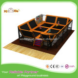 Indoor Trampoline From China with Large Foam Blocks, Delicate Color Large Foam Pit