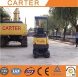 CT16-9b with Zero Tail&Retractable Chassis Hydraulic Mini Digger