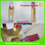 Shopping High Quality Jute Wine Bag for Promotion