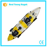 Three Person Seat Fishing Family Plastic Rotomolding Kayak