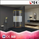 K-7881 Hanging Door Stainless Frame Colorful Tempered Glass Shower Room