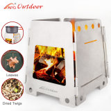 2017 APG Portable Outdoor Folding Wood Stove