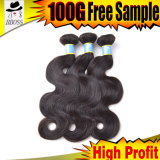 Charming Brazilian Natural Hair Human Bundle Weave Hair