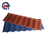 Colorful Stone Chips Coated Metal Roof Tile Mould Hote in Ghana / Nigeria