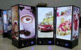 Table Top Advertising Display Mobile Battery with Power Bank for Charging and Frame