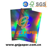 Special Paper Certificate Hologram Paper Board for Packing