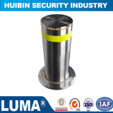 Car Parking Control Security Automatic Hydraulic Bollards Stainless Steel Bollard with Light