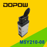 M5y210-08 Latching Manual Mechanical Valve 2 Position 5 Way