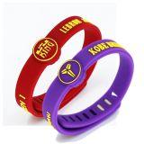 China Wholesale Kobe Logo Silicone NBA Wristbands