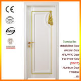 European Style White Colour Interior Solid Wood Door Foshan Factory