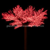 LED Cherry Tree for Christmas Decoration, Outdoor Used