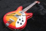 Cherry Sunburst Rickenback 12 Strings Electric Guitar (GR-10)