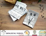 Professional Cotton Printed Cafe Towels Set Df-1976