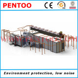 Powder Spray Line for Coating Large Capacity of Products