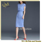 Wholesale Cotton Polyeater Women Cheap Fashion Bandage Dresses