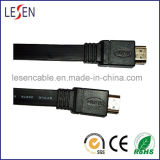 Flat HDMI Cable, 1.4 Version, High Speed, Supports 3D