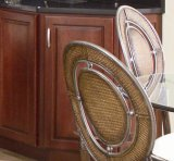 (Solid Cherry Wood kitchen #2012-39) Kitchen Cabinet