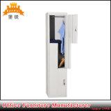 Self-Assembly Furniture Steel Gym Z Shape 2 Door Metal Locker