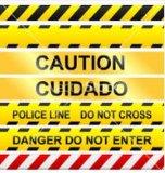 SGS Caution Tape/Warning Tape/ Danger Tape / Hazard Tape