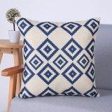 Digital Print Decorative Cushion/Pillow with Ikat Geometric Pattern (MX-60A/B/C/D/E/F)