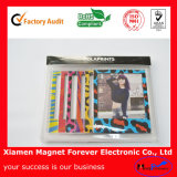 Funny Paper PVC Magnetic Photo Frame