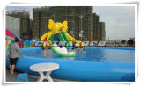 Cute Elephant Water Slide with Hugh Inflatable Pool Aqua Park Toy