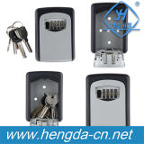 4 Digit Wall Mounted Key Storage Box (YH9228)