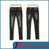 Stretchy Trousers Women Denim Jeans Skinny Pants (JC1326)