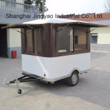 Luxury Mobile Food Carts for Sale/Food Cart Trailer/Mobile Kiosk Carts Ce Approved