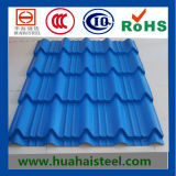 Profiled Color Coated Galvanized Roofing Steel in Compertitive Price