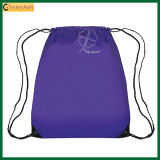 School Backpack Sport Bag Drawstring Knapsack (TP-dB079)